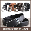 ★promotion $8.9 ★Mens Fashion leather belt/black brown Leather belt with sense in suit /wallet/gift