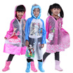 High Quality Children Rain Coat/ Kids Raincoat/ Rain wear - With Inflatable Brim Design - Hello Kitty/Mickey/Minnie/Thomas/Princess - For 3 to 12 years old - S to XXL