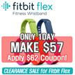 [MAKE $57!!!! SUPER SALE! ] Fitbit Flex Wireless Activity + Sleep Wristband / free size