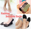 [BUY 5 Free 1]][SG Ready Stock]*Fashion Women*Men Invisible Sock/SG Ready Stock/Bamboo Boat socks