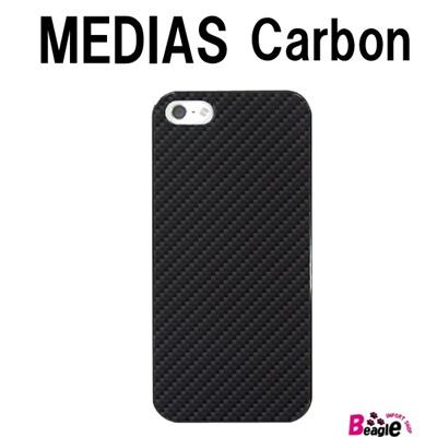 特殊印刷/MEDIAS X(N-04E)U(N-02E)(カーボン)CCC-080【スマホケース/ハードケース/カバー/medias x/u/メディアス ユー/n04en02e】の画像