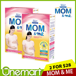 [NESTLE MOM and ME] 2 x Premium Nutritional Supplement 350g ▲ For Pregnant and Breastfeeding Moms