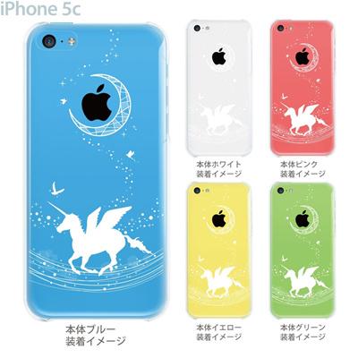 【iPhone5c】【iPhone5c ケース】【iPhone5c カバー】【クリア ケース】【iPhone】【カバー】【スマホケース】【クリアケース】【クリアーアーツ】【イラスト】【ペガサス】 09-ip5c-th000の画像
