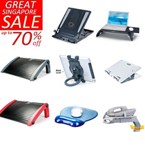 GREAT SINGPAPORE SALE UP TO 70% OFF FOR NOTEBOOK RISER  FOOTREST WRIST REST