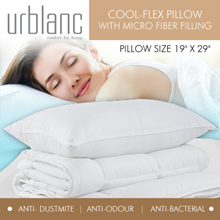 [Urblanc] (Qoo10 Special!) Microfiber Hotel Luxe Collection (Firm/Extra Firm) PILLOW *Anti Dust-mite