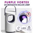 *PURPLE VORTEX *USB UV MOSQUITO KILLER LAMP / INSECT TRAP / MOSQUITO REPELLANT