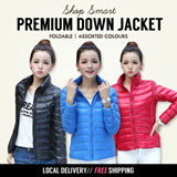 Local Delivery *NEW ARRIVAL* [Free Courier Delivery] 2015 Women Foldable Down Jacket|Travel Winter Jacket|0-20Degrees Warm|11 Colors|Ladies Jacket|Winter Coat