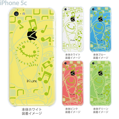 【iPhone5c】【iPhone5cケース】【iPhone5cカバー】【iPhone ケース】【クリア カバー】【スマホケース】【クリアケース】【イラスト】【クリアーアーツ】【HEROGOCCO】 29-ip5c-nt0039の画像