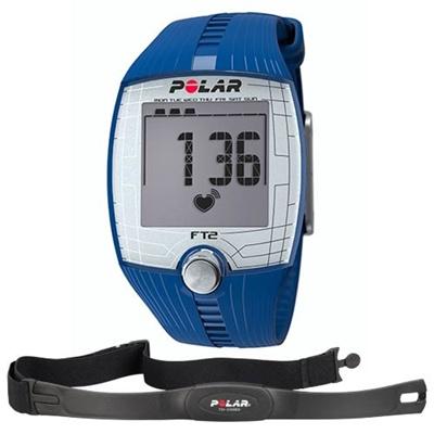 ポラール(Polar) FT2 ブルー 90051022 【フィットネス クロストレーニング 腕時計 心拍計 ハートレート 国内正規品】の画像