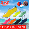 ★Qoo10 3+2 Special★  GO OUT AQUA SHOES / skin shoes / water shoes / shoes/Running Shoes/Aqua Sock