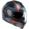 エイチジェイシー(HJC) IS-MAXII (マイン)MINE ブラック/オレンジ HJH101 BLK ORG 【バイク用品 ヘルメット フルフェイス】