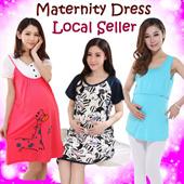 MTN1:Restock 18/04/2016 Nursing Wear/maternity Dress Breastfeeding top/outfit nursing top/maternity wear pajamas Pregnant women pajamas/nightgown/sleepwear