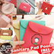 [Sanitary Pad Pouch]Small pouch/Coin pouch/Card holder/Coin purse/Coin wallet/Key Pouch/wallets/bags/small bag/pouch bag/waist pouch/card wallet/Bag/Wallet/Pouch/bracelet/★BUY 3 FREE SHIPPING★