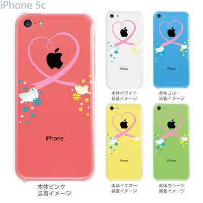 【iPhone5c】【iPhone5c ケース】【iPhone5c カバー】【ケース】【カバー】【スマホケース】【クリアケース】【クリアーアーツ】【ハート】 09-ip5c-th0009の画像