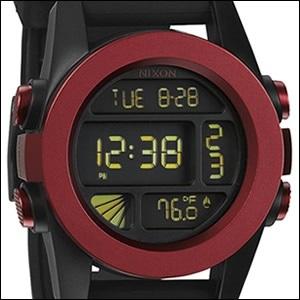NIXON ニクソン 腕時計 A197-1307 メンズ THE UNIT ユニット Dark Red Anoの画像
