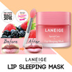 Laneige Lip Mask shadow sleeping pack two tone lipstick lip balm heal crack dry lips berry pink