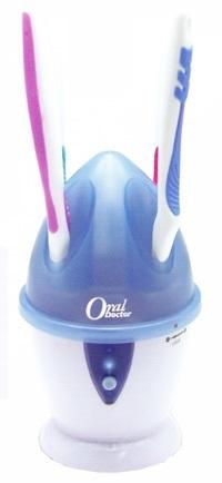 【オーラルドクター】ハブラシ除菌庫 据置用紫外線光(UV-C)で歯ブラシをしっかり除菌の画像