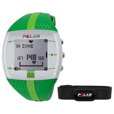 ポラール(Polar) FT4F グリーン/グリーン 90051031 【フィットネス クロストレーニング 腕時計 心拍計 ハートレート 国内正規品】の画像