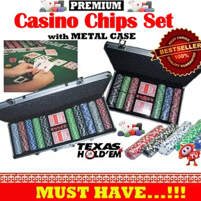 Qoo10 poker set