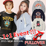 1+1 Event [SEVENDAYS]★Free shipping!!!★KOREA PULLOVER MEGA HIT 88% OFF★ [Top Shop] women fashion women clothing Plus Size T-Shirts Over 100 Style Customer Satisfaction