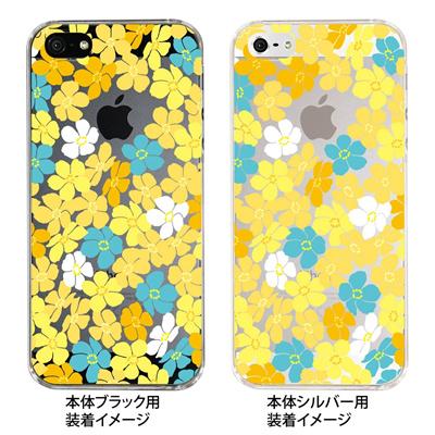 【iPhone5S】【iPhone5】【Clear Fashion】【iPhone5ケース】【カバー】【スマホケース】【クリアケース】【トロピカルフラワーA】 ip5-09-flo0004の画像