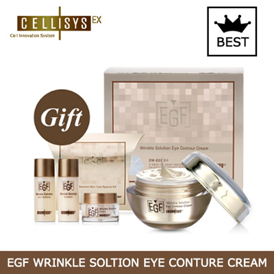 [CELLISYS]EGF リンクル ソリューション アイコントゥアー クリーム EX EGF Wrinkle Soltion Eye Conture Cream[正規日本販売契約提携店][韓国コスメ][ セリシス]★送料無料★の画像