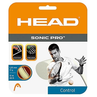 ヘッド(HEAD) ソニック プロ(SONIC PRO) 17 HTM281028 WH 【テニス ガット ストリング 硬式】の画像