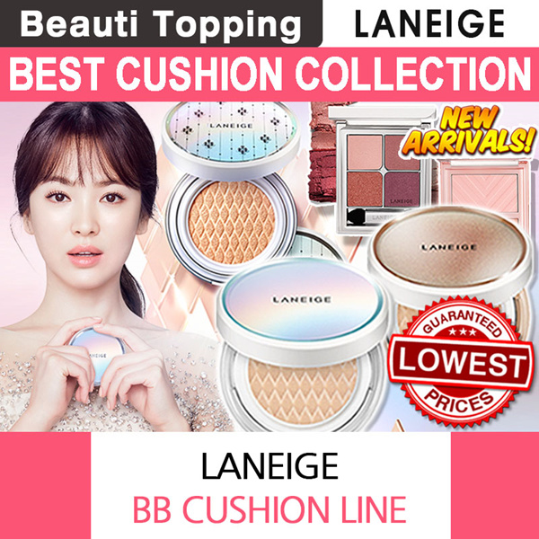 ?BUY 3 GET 1 FREE?NEW?LANEIGE?BB Cushion Series?Whitening / Pore Control / Anti Aging Deals for only S$19 instead of S$0