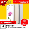 [16GB/32GB/64GB/128GB] Xiaomi Mi Max 3GBRAM+32GB / 4GBRAM+128GB//Fingerprint Identification/6.44 Inch/16MP Camera /Snapdragon 650 Hexa-core Adreno 510 4850mAh Mobile Phone (GOLD) Buy and Collect NOW!