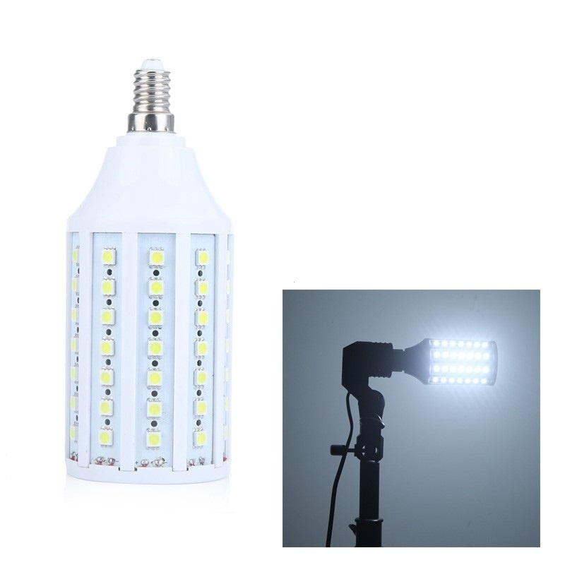 【クリックでお店のこの商品のページへ】86 5050 SMD LEDトウモロコシの球根ライトランプE14 1550Lm 360°13W 220Vホワイト省エネ