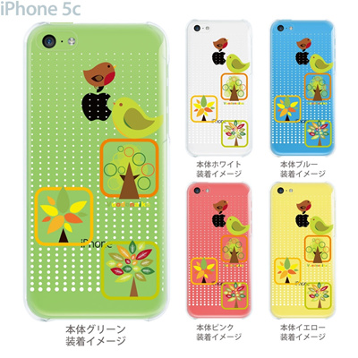【iPhone5cケース】【iPhone5cカバー】【スマホケース】【クリア】【クリアケース】【イラスト】【フラワー】【vuodenaika】 21-ip5c-ne0029caの画像