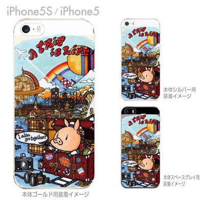 【SWEET ROCK TOWN】【iPhone5S】【iPhone5】【iPhone5sケース】【iPhone5ケース】【カバー】【スマホケース】【クリアケース】【アート】 46-ip5s-sh0007の画像