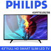 Philips 43 Full HD Smart Slim LED TV BLACK 43PFT6100/98  | 1 YEAR LOCAL PHILIPS WARRANTY | READY STOCKS AVAILABLE !!!