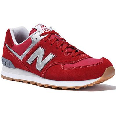 ニューバランス(newbalance)ライフスタイルスニーカーレッド/グレーRED/GRAYML574HRTD【スニーカーメンズシューズレディースシューズカジュアルスニーカー靴】