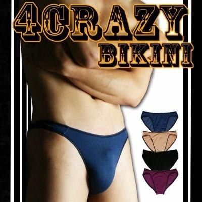 俺のビキニ「4CRAZY-Bikini」フロントシームレスタイプ「メール便10枚迄OK」の画像