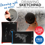 [SUPER SALE] DRAWING SKETCHPAD TABLET * ONE BUTTON EASY ERASE * 3 YEAR BATTERY LIFE * WHITEBOARD * STUDY * CHILDREN * LEARNING * XMAS * CHRISTMAS * LIGHTWEIGHT * PORTABLE