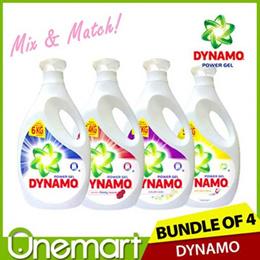 [DYNAMO] NEW Detergent  CHOOSE ANY 4! LARGE Bottle Bundle (2.7L / 3.0 L)