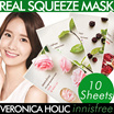 Innisfree Mask Sheet Collections★Its Real Mask 16 Types/Intense Ampoule Mask/Hydro Gel Mask★Korean Cosmetics★Free Shipping★