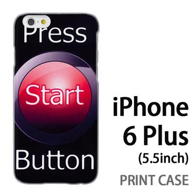 iPhone6 Plus (5.5インチ) 用『No3 Press Start Button』特殊印刷ケース【 iphone6 plus iphone アイフォン アイフォン6 プラス au docomo softbank Apple ケース プリント カバー スマホケース スマホカバー 】の画像