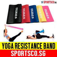 ⏰⚡Premium Yoga Resistance Band ☘ 5 Level Color Coded Progressive Exercise ☘ SG Seller ☘ Fast Ship ☘