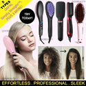 ❤PERFECT CHRISTMAS GIFT❤ 😏STRAIGHT HAIR IN A FEW BRUSHES😏 *DAFNI /Simply Straight™ /2 in 1 Ionic Straightener  /Ceramic Comb Straightener /Magic Hair Brush Straightener / Affordable to Luxur