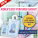🌸 KOREA LATEST HIT!   Perfumed Sachets (7ml) ✲ LAST UP TO 6 MONTHS! Super Long-Lasting! 🍃 5 SCENTS