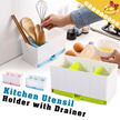 Draining Kitchen Storage Items▶Elephant Cutlery Drainer / Draining Dish Rack◀GDA-Drains all excess water from your wet cutlery、toothbrush holder etc.../ Placing kitchens bathrooms offices etc