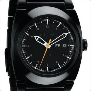 NIXON ニクソン 腕時計 A358 577 メンズ THE DON ドン 2 All Black/Orangeの画像