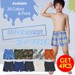 GET 4pcs Branded Kids Boxer_Size S-XXL_Good Material_20 Motif_Boys Boxer / kids underwear / celana boxer anak celana dalam anak baju anak fashion kids