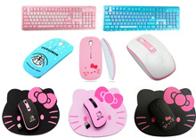 💖 Hello Kitty Wireless USB Mouse + FREE Mouse Pad 💖Keyboard Laptop Computer Office Desktop PC MICE