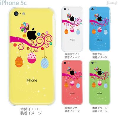 【iPhone5c】【iPhone5cケース】【iPhone5cカバー】【ケース】【カバー】【スマホケース】【クリアケース】【フラワー】【クジャクとタマゴ】 22-ip5c-ca0101の画像
