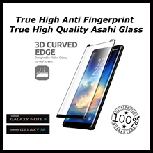 ★The Best★No Sensitivity Issues★Fits ALL Best Anti-fingerprint Coating★5/10 Update 3D Tempered Glass