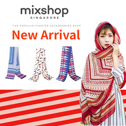 Scarf Scarves shawl Korean style long scarf wrap shawl with many design 「mixshop.sg」