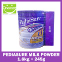 ◄ PEDIASURE ► ★ 1.6kg + FREE 245g For Kids ★ Complete Nutrition Vanilla Milk Powder ★ From Abbott ► For 1-10 YO Kids